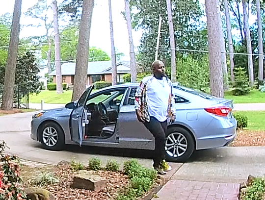 The Shreveport Police department is asking the public's help in identifying this suspect who is wanted in connection to the theft of a package from a residence on Richmond Avenue.