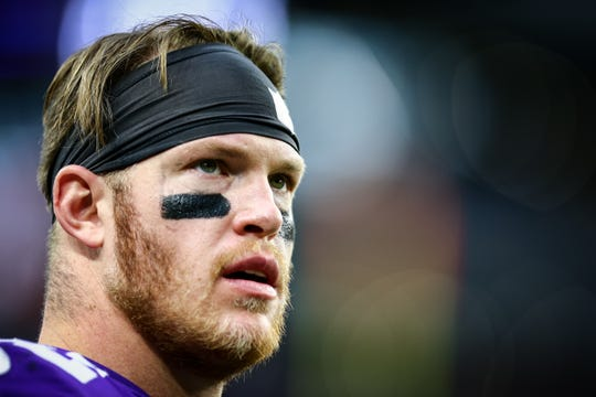 Kyle Rudolph wanted to stay in Minnesota, and the Vikings signed him to a 4-year, $36 million extension last week.