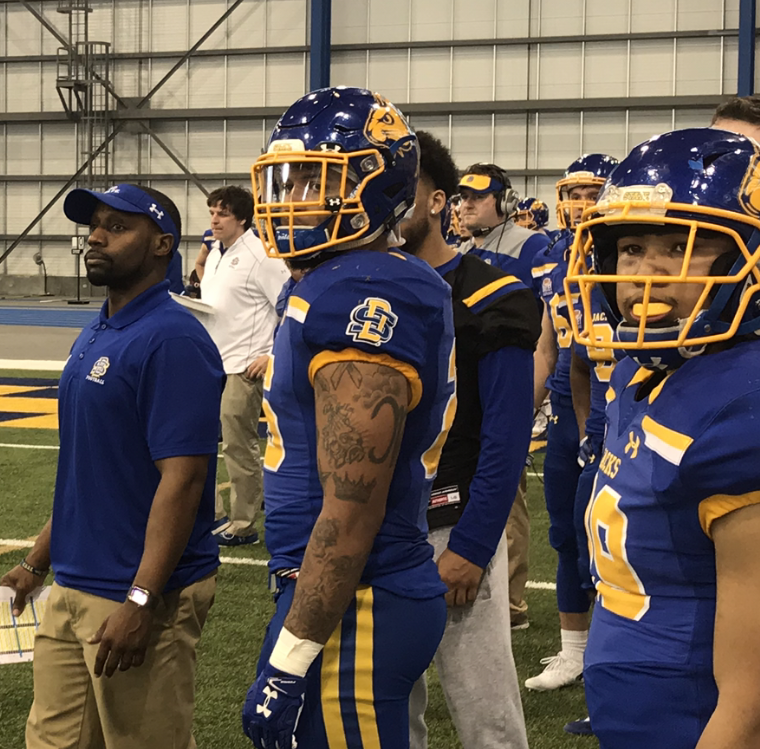 New running backs coach Jimmy Beal excited to get to work for South Dakota State