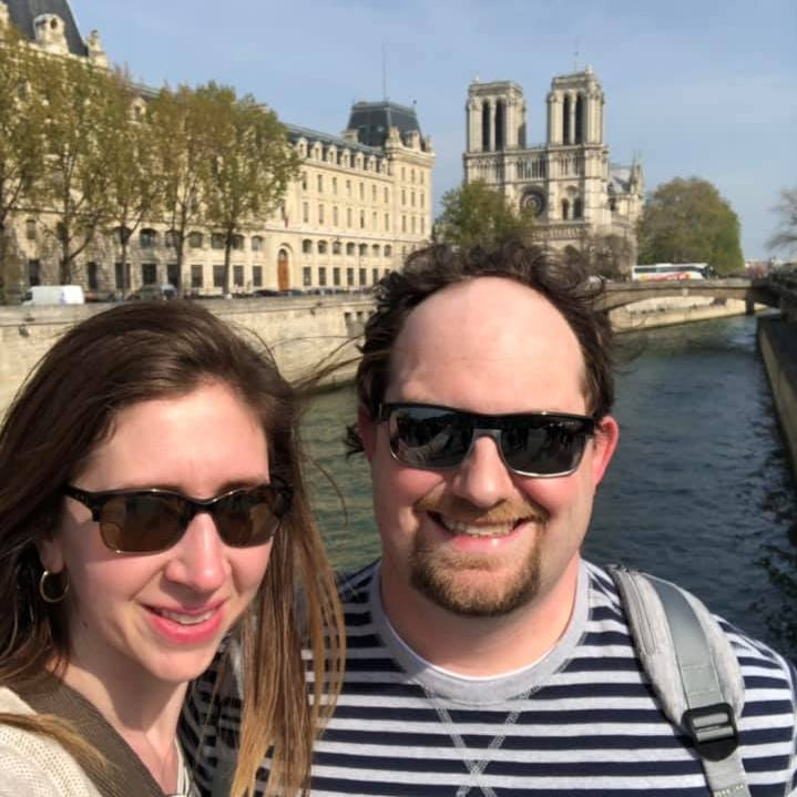 A Sioux Falls couple toured Notre Dame hours before the fire — then, they watched it burn.