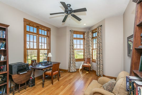 The home features a number of quiet nooks to work or read in.