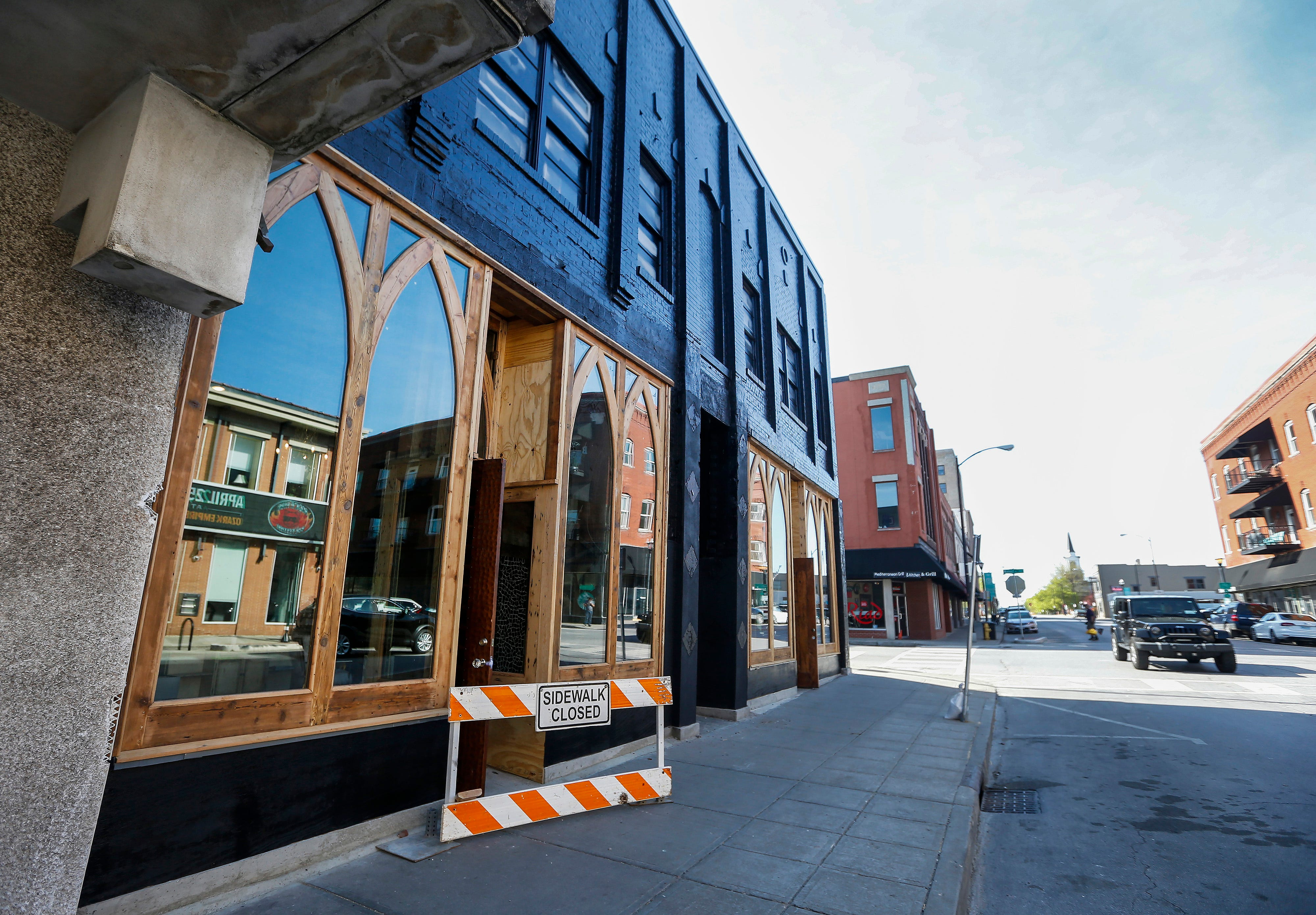 The building at 328 South Avenue, once known as The Studio when owned by Lou Whitney, is undergoing renovations.
