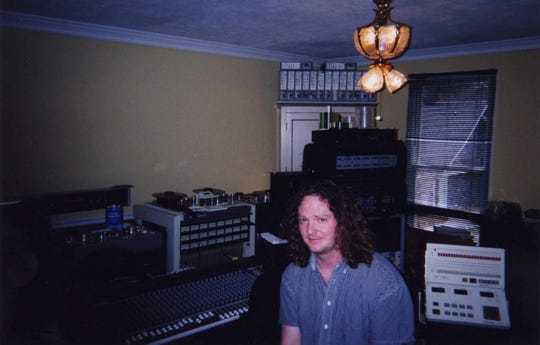 A 2003 photo of Dan Selim, a technical engineer who worked with Lou Whitney at The Studio, 328 South Avenue, from 1994 until 2015. Selim also lived in space above The Studio from 1995 until 2015.
