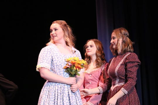 Lee High's Mary Elam, left, will start a national tour with Virginia Rep's Children's Theatre in September.