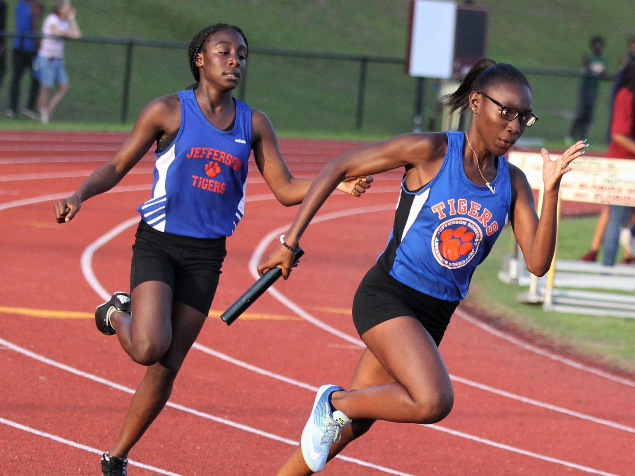 District 3-1A and 2-2A track and field meets at Florida High on Saturday, April 13, 2019.