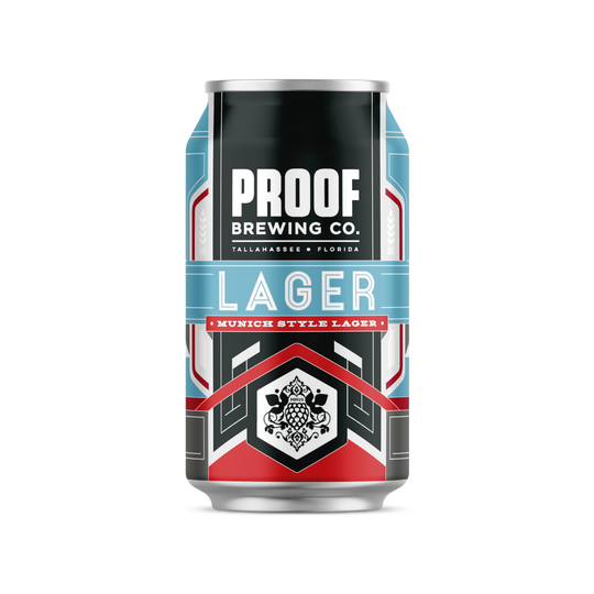 Proof's Munich Style Lager is a great summer drink.
