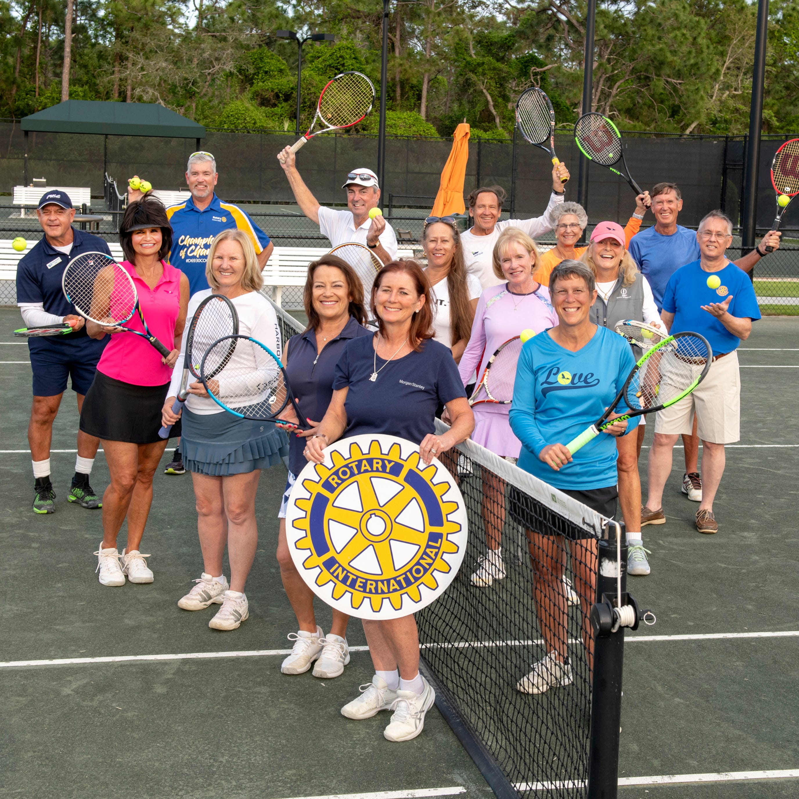 Stuart Sunrise Rotary Tennis Classic at Harbour Ridge raises money for scholarships