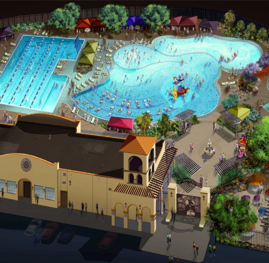 Fiesta-themed water park will be built in El Paso's Mission Valley, officials say