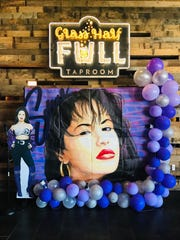 Take a selfie with the Selena mural at the Alamo Drafthouse.