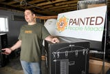 Philip Sieri, owner of Painted People Mead and Cider, talks about apple and pear ciders. His meadery, currently under renovation, plans to open in the Millville Airport industrial park.