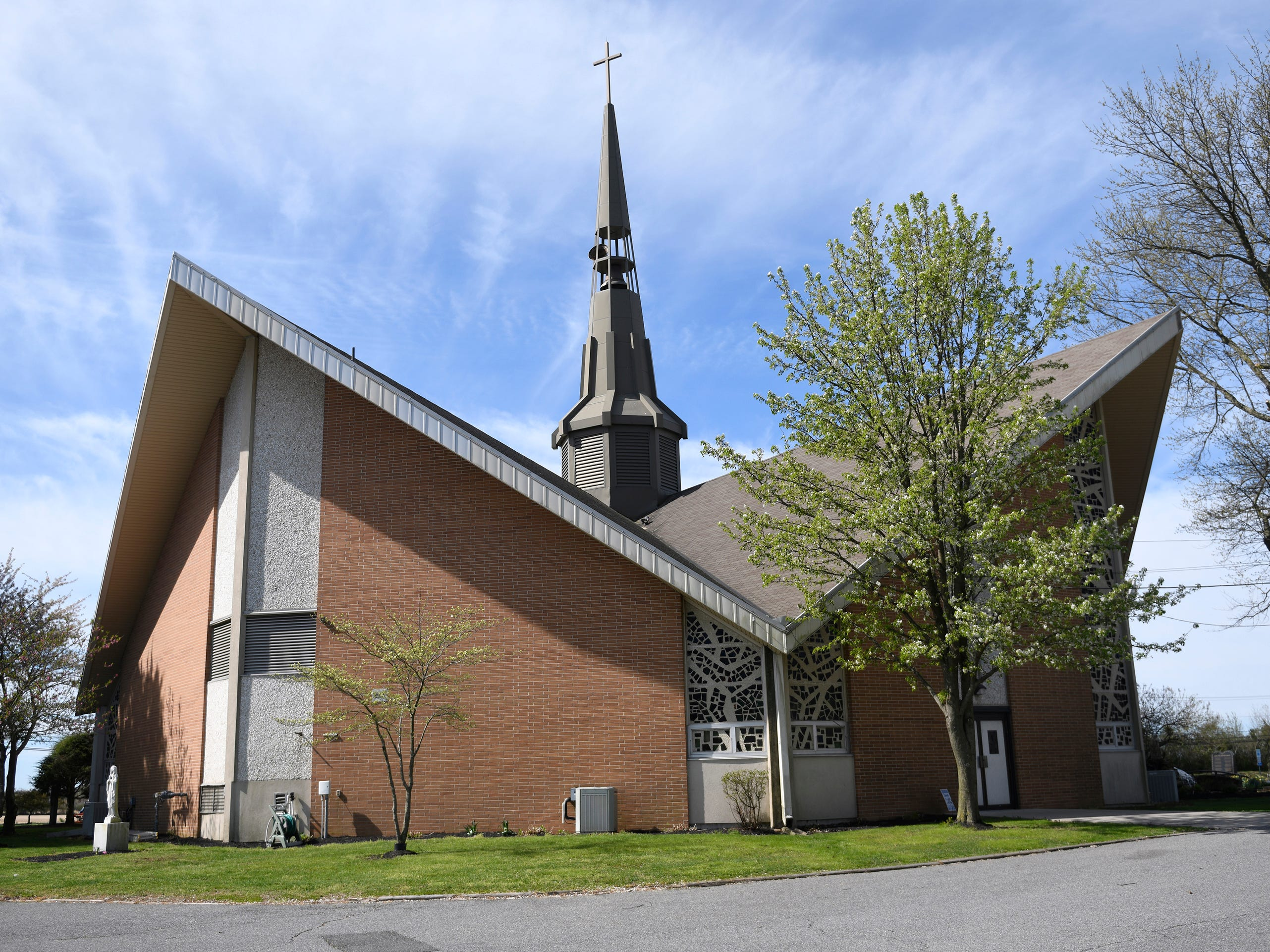 Our Lady of Pompeii Roman Catholic Church in Vineland, pictured here on Tuesday, April 16, 2019.