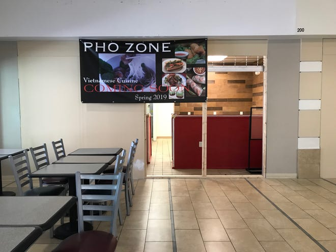 Pho Zone, a sit-down Vietnamese restaurant, plans to open in the Wausau Center mall at the end of May.