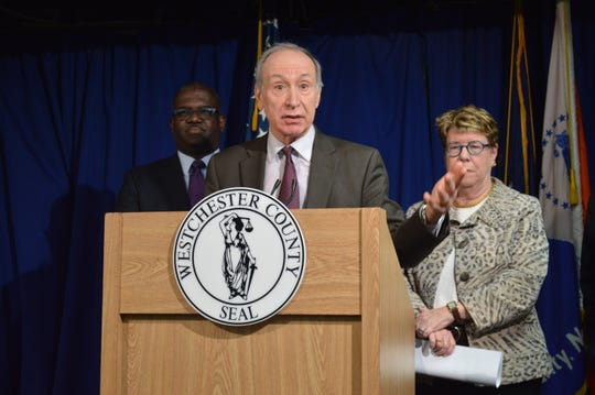 Westchester County Attorney John Nonna said that 26 of 52 monitoring wells at Westchester County Airport indicated contaminated groundwater.