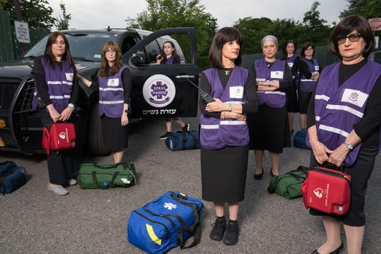 """""""93Queen,""""a documentary thatfollows a group of Hasidic Brooklynite women who broke tradition and became the first all women volunteer ambulance corps in their community."""