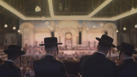 """A scene from the documentary """"City of Joe.l"""" It tells the story of a town divided when an ultra-orthodox Hassidic sect begins to run out of room for its many people in the small town of Kiryas Joel."""