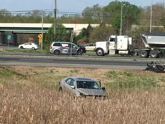 A serious car crash occurred Tuesday morning on U.S. 13 at Pine Tree Road in Townsend.