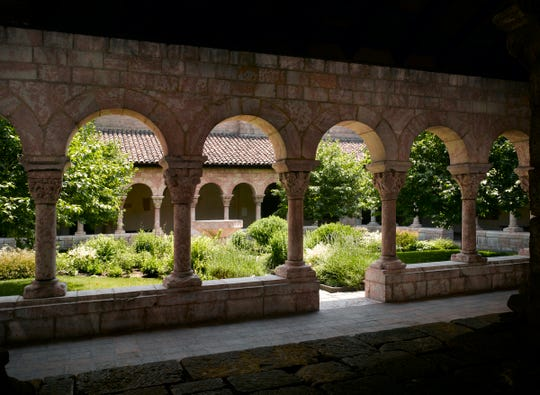 The Cux Cloister at the Met Cloisters in New York could be a dead ringer for the Dorne gardens in 'Game of Thrones.'