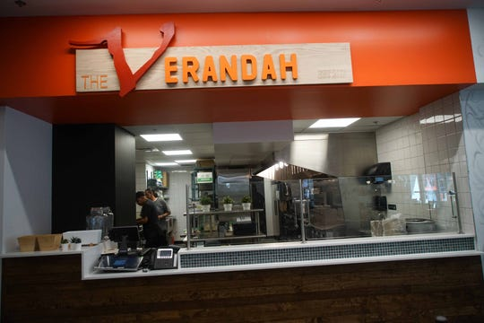 The Verandah, an Indian street food counter at the DECO food hall in downtown Wilmington, closed for good on Jan. 17. It is being replaced by a deli.
