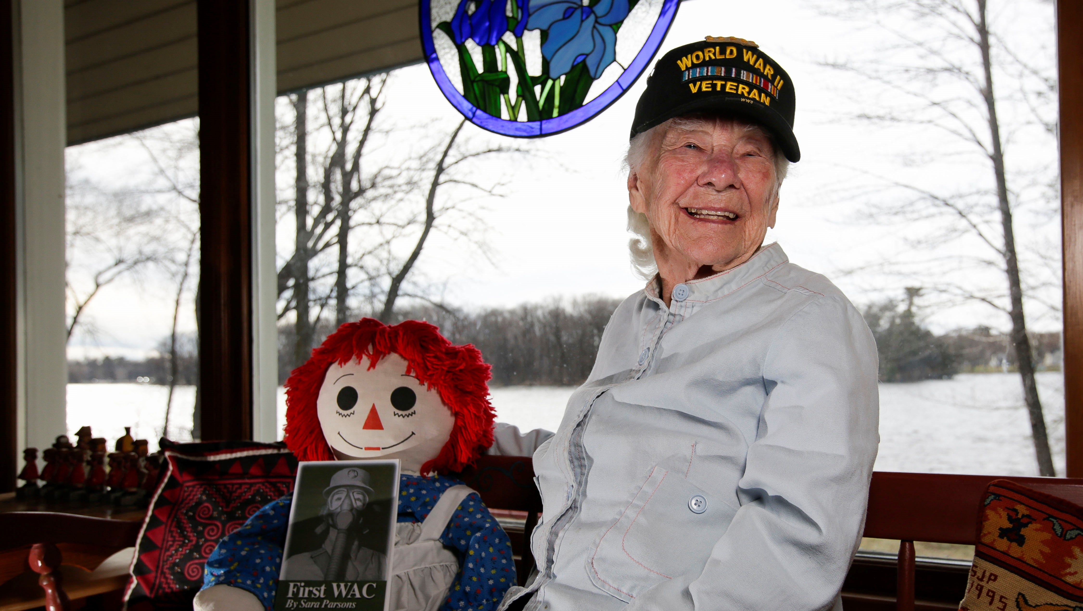 One of the first to join WACs in World War II, a trailblazer turns 100 on Easter Sunday.