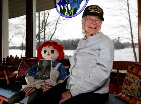 Sara Parsons, of Wisconsin Rapids, turns 100 years old on April 21. She joined the Women's Army Corps and served as an Army officer in World War II. As she lives out her finals years, Parsons now focuses on the positives in her life and cherishes the time she has left with her family, home and garden.