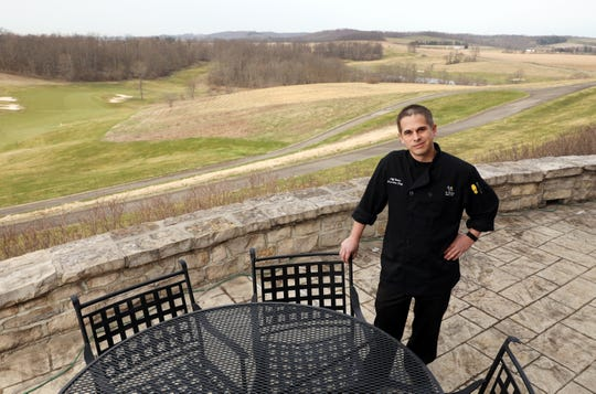Jeff Stotts is the executive chef at The Overlook Restaurant at The Virtues Golf Club in Nashport.