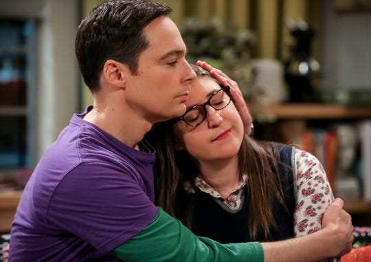 It's been a long, often slow-moving process, but the relationship between Sheldon (Jim Parsons), left, and Amy (Mayim Bialik) has made great progress over the years. (Photo: Michael Yarish, Warner Bros.)