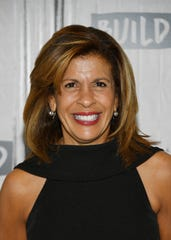 "Hoda Kotb visits Build to discuss her new book ""You Are My Happy"" on March 12, 2019 in New York City."