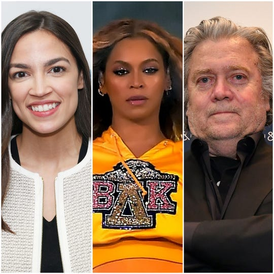 Alexandria Ocasio-Cortez, Beyonce and Steve Bannon are all documentary subjects this year.