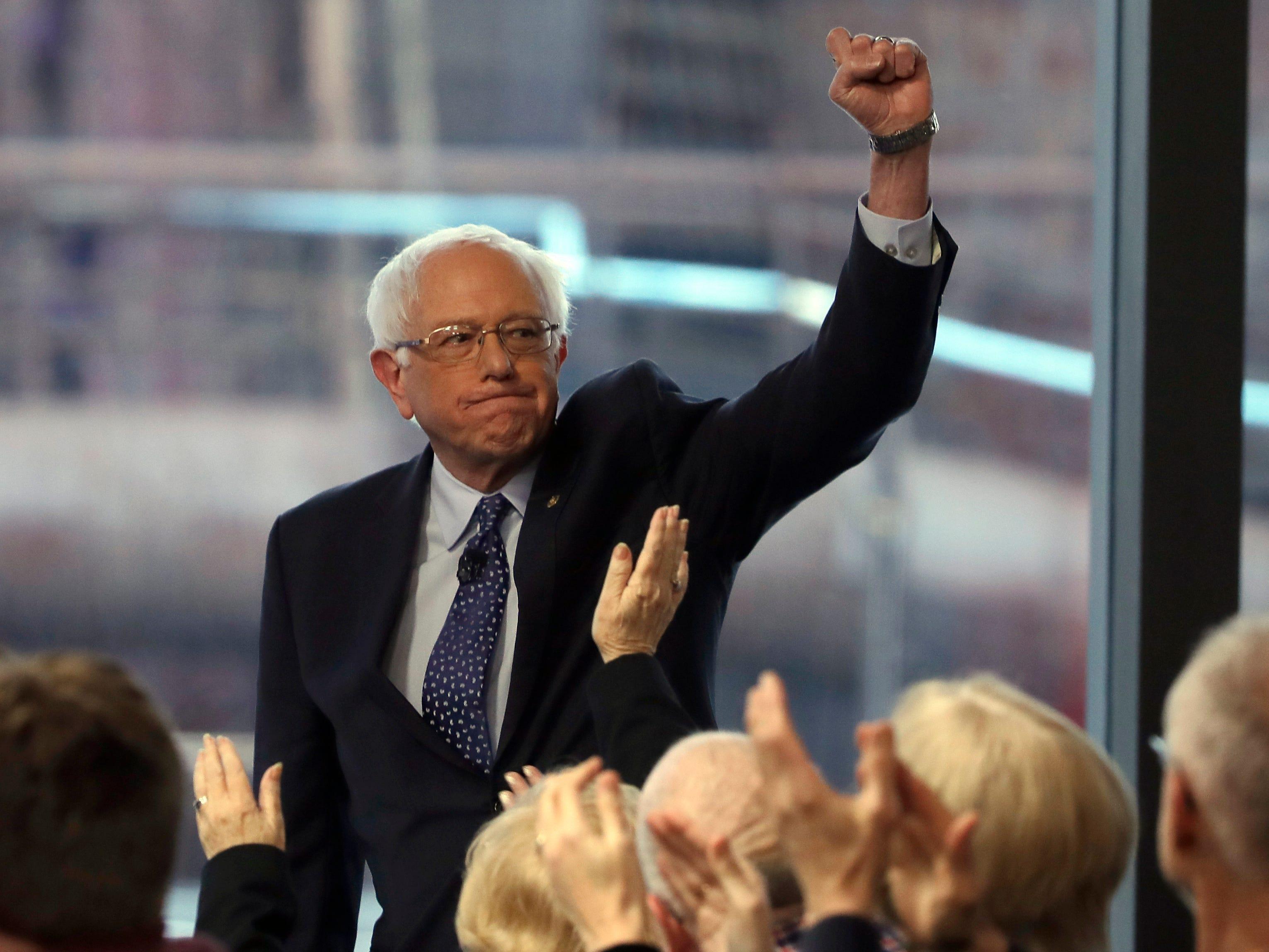 Bernie Sanders leads Joe Biden in Emerson national poll of 2020 contenders