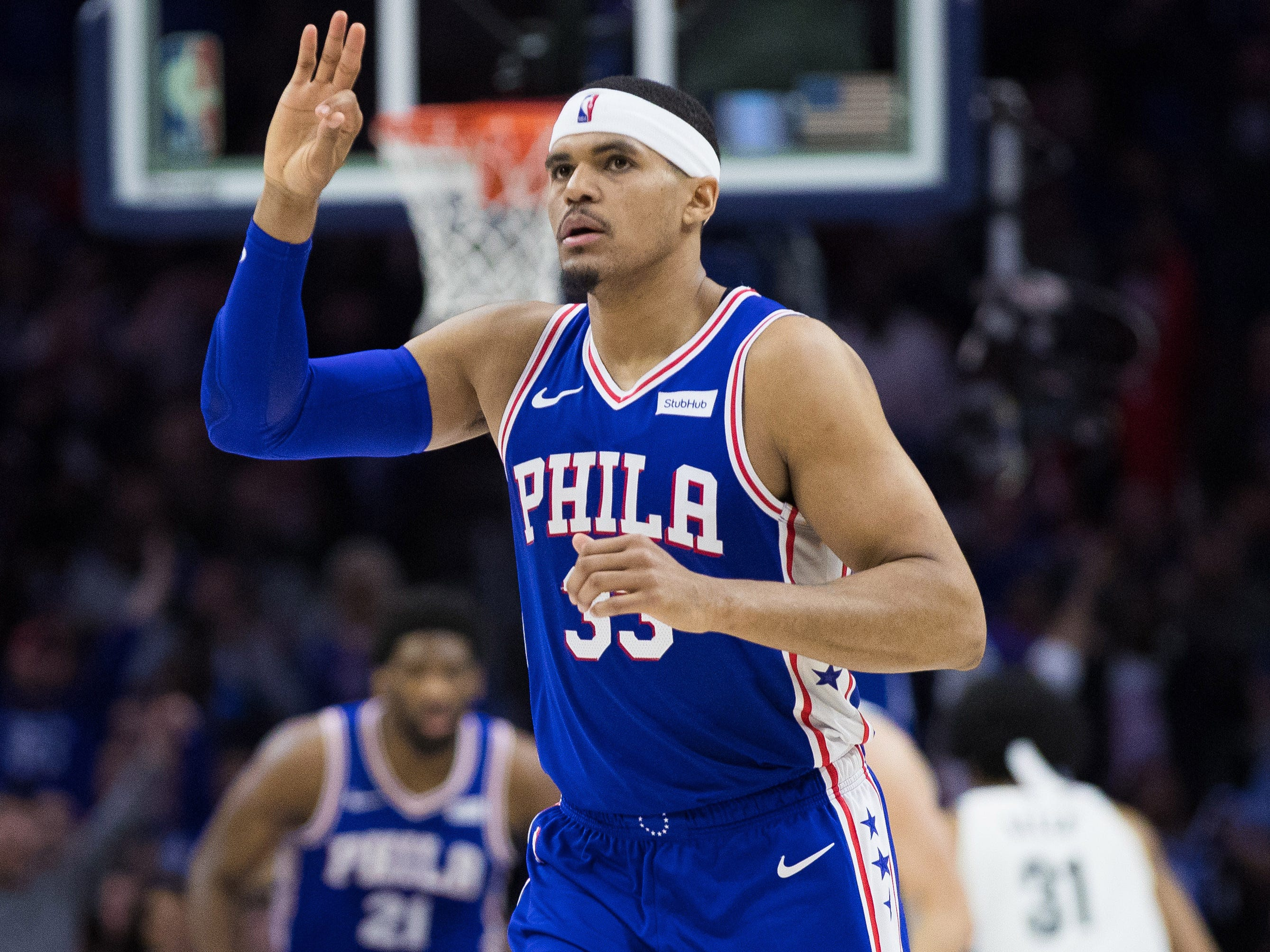 76ers tie playoff record with 51 points in third quarter of Game 2 rout: Five impressive stats
