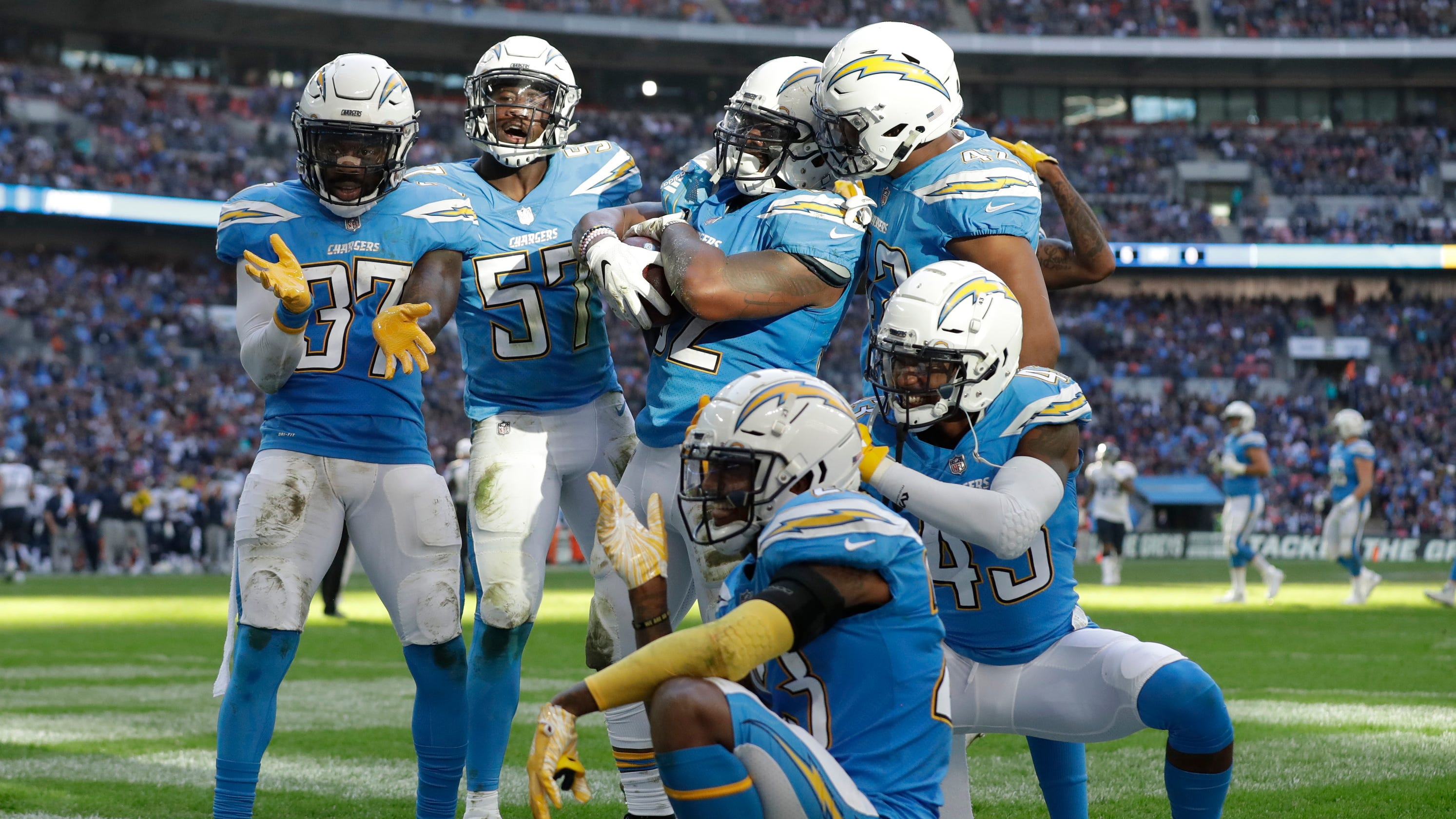 meet 85913 e4b7f LA Chargers: Team will wear iconic powder blue uniforms in 2019
