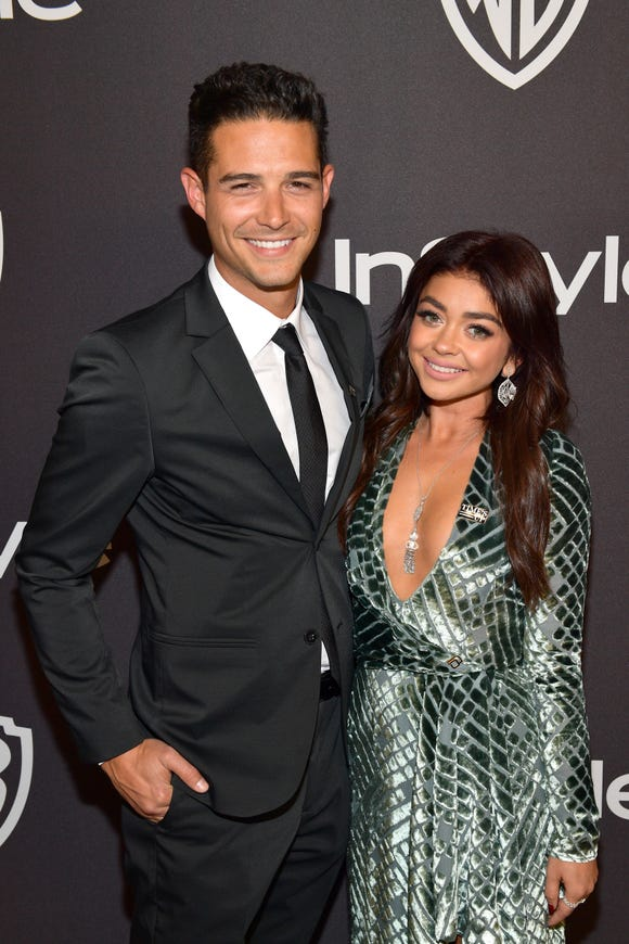 "Sarah Hyland and Wells Adams built a relationship on ""trial by fire."""