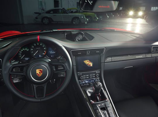 Porsche's 911 Speedsterwill be on display at the New York Auto Show.