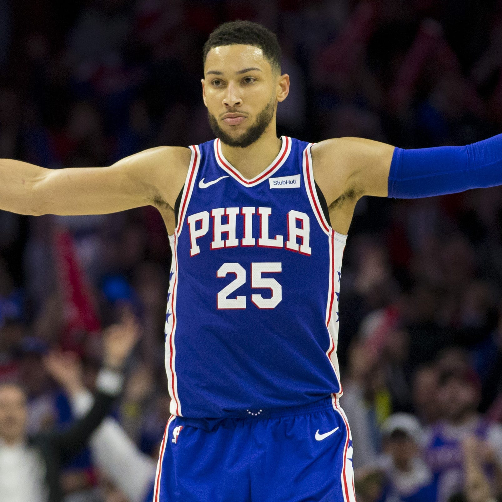 Ben Simmons, 76ers bounce back with 'haymaker' to rout Nets in Game 2