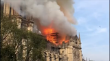 """The deputy mayor of Paris says Notre Dame Cathedral has suffered """"colossal damages"""" from a fire that started in the spire and spread. (April 15)"""