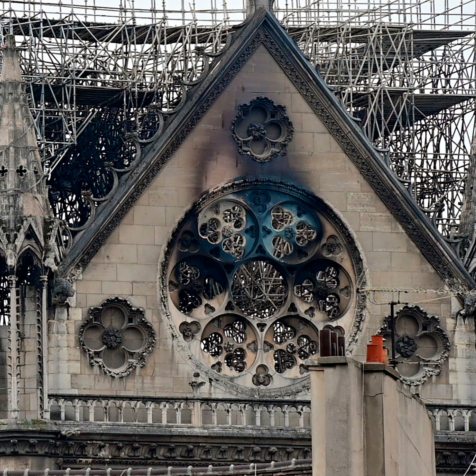 Greater Cincinnati students toured Notre Dame Cathedral hours before fire