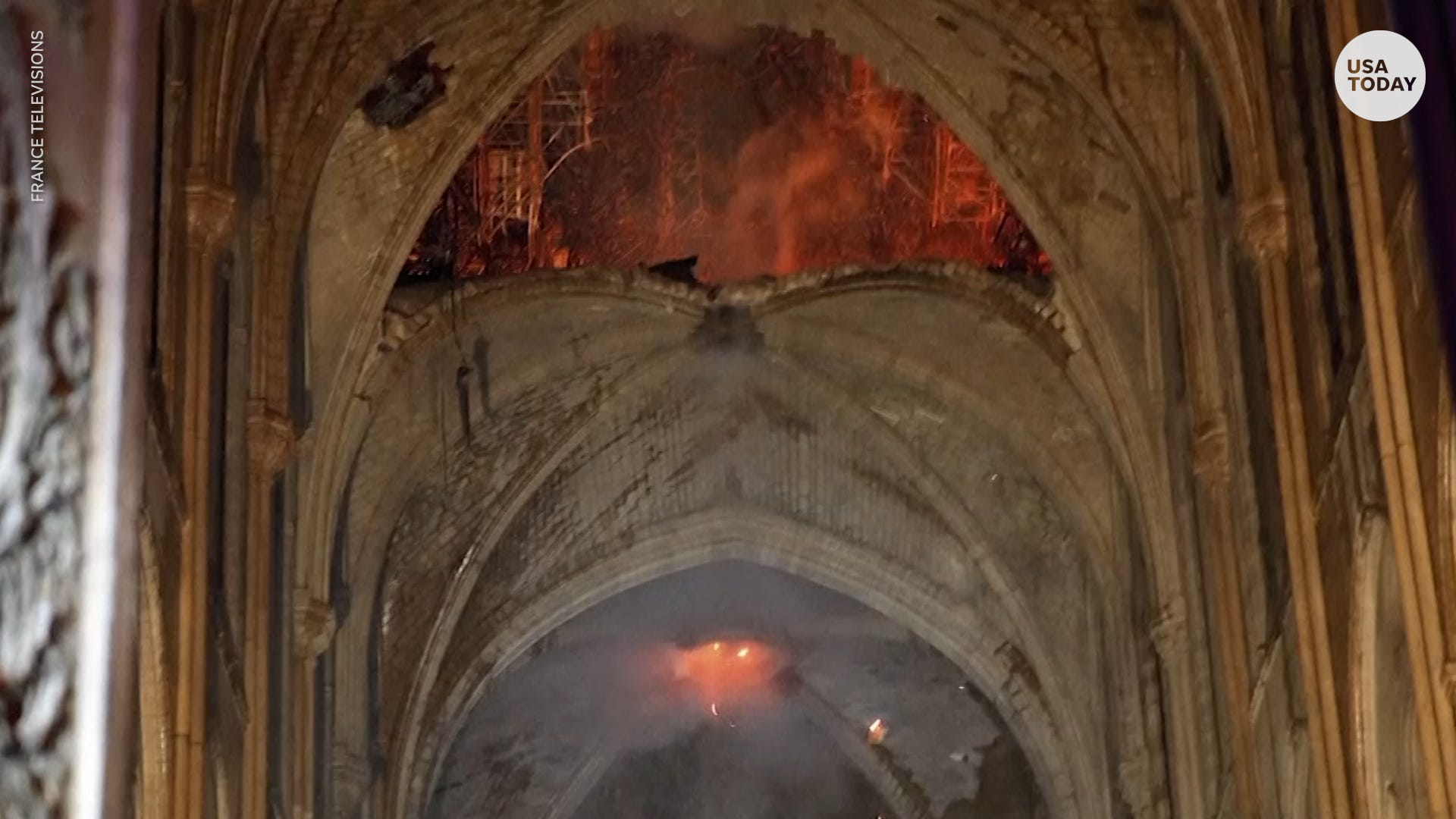 645ad02452fd Notre Dame Cathedral fire extinguished  cause of blaze still unknown
