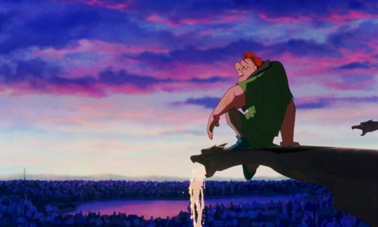 """Disney's """"The Hunchback of Notre Dame"""" is a lesson in religion and a love letter to the famous cathedral."""