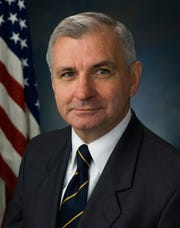 Sen. Jack Reed, Democrat from Rhode Island.