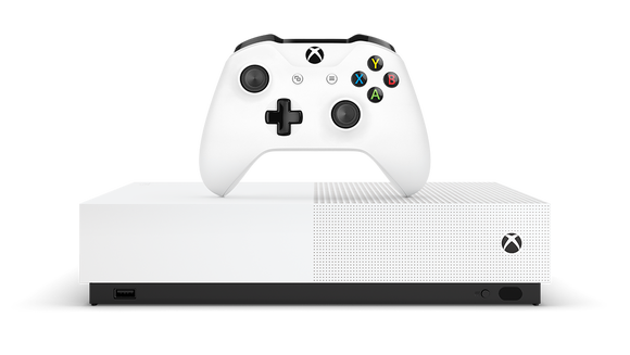 The Xbox One S All-Digital Edition