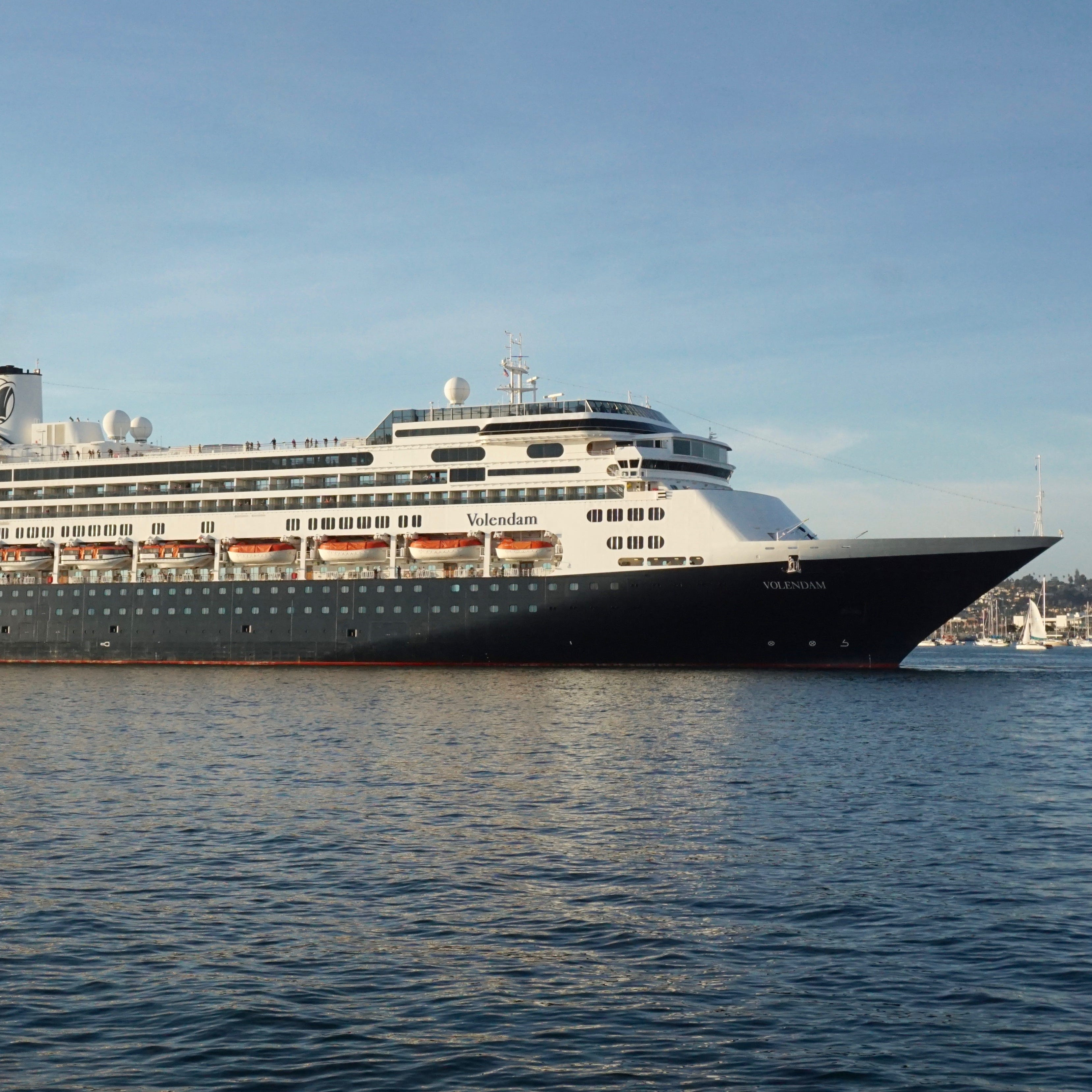 At 61,214 gross tons and with a capacity of 1,432 guests, Holland America Line's Volendam is one of the Carnival Corporation-owned company's smaller, more intimate ships.