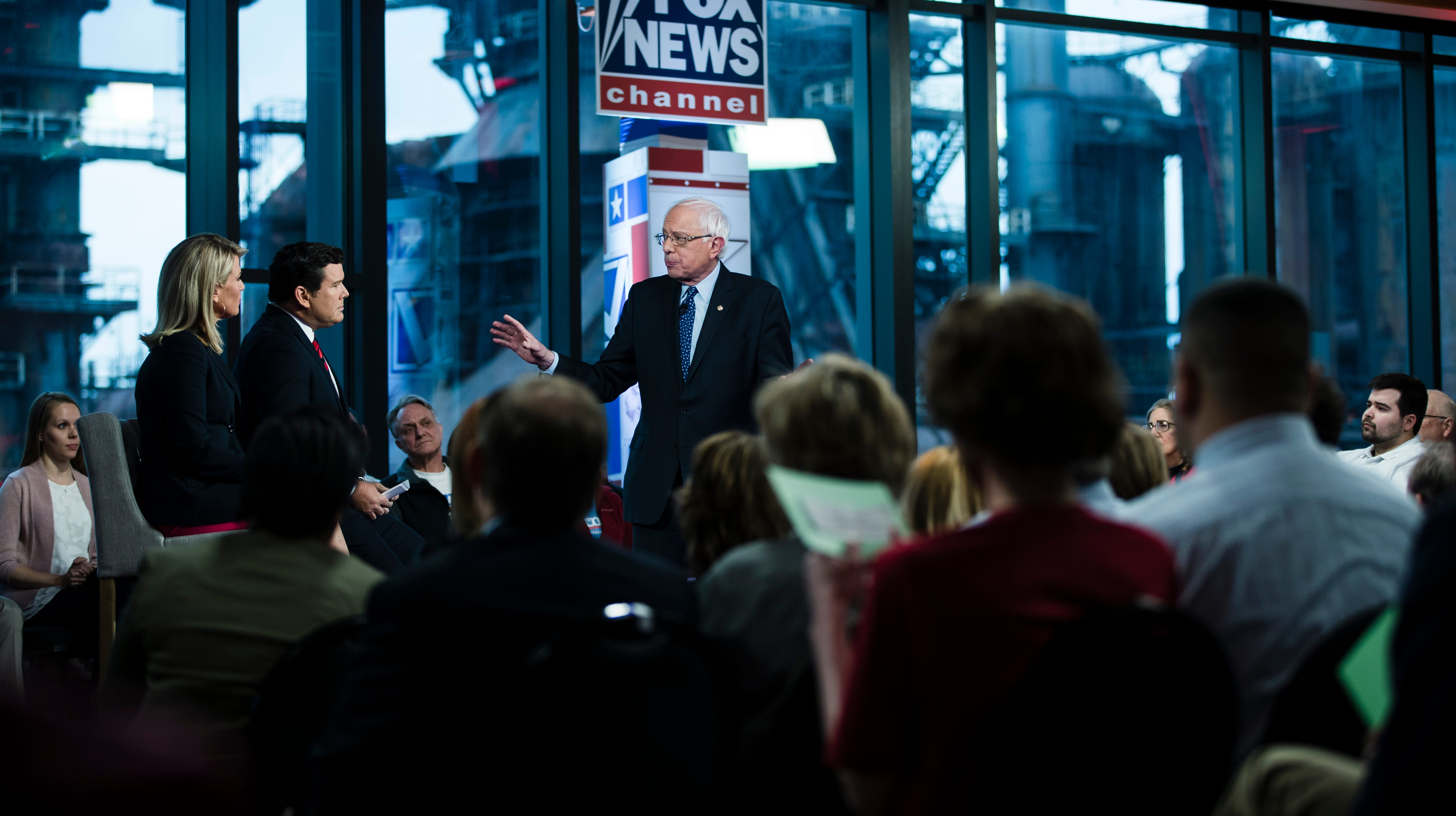 Bernie Sanders is Bernie Sanders at Fox News town hall and survives. Who's next? Anyone? | Opinion