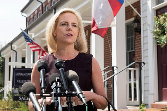 Former Homeland Security Secretary Kirstjen Nielsen