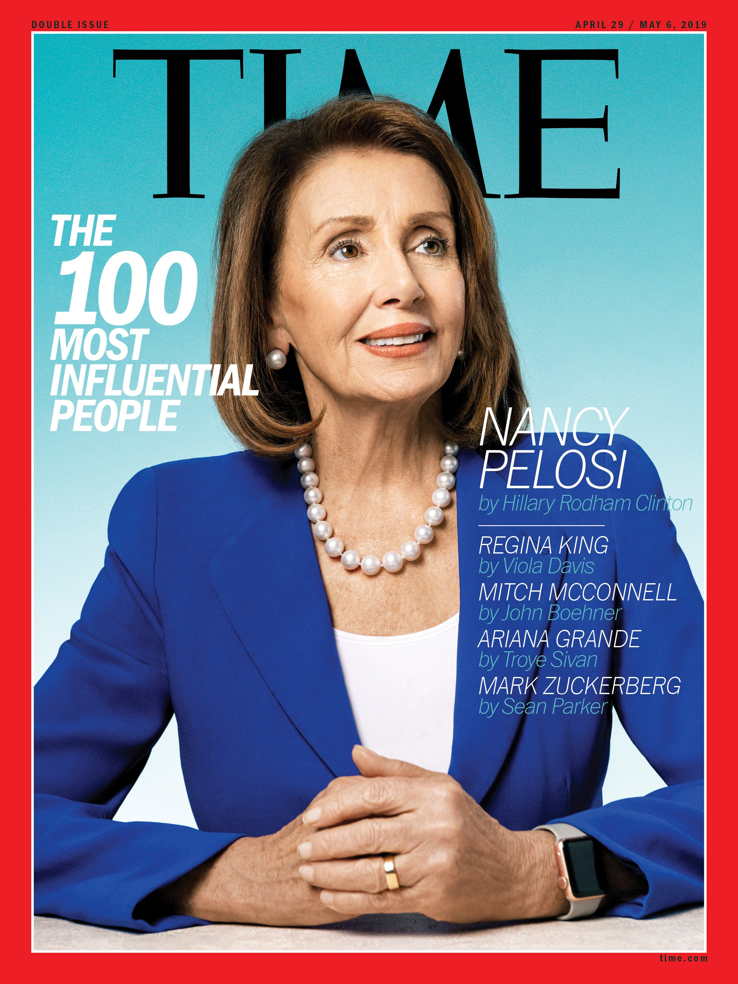Speaker of the House of Representatives Nancy Pelosi