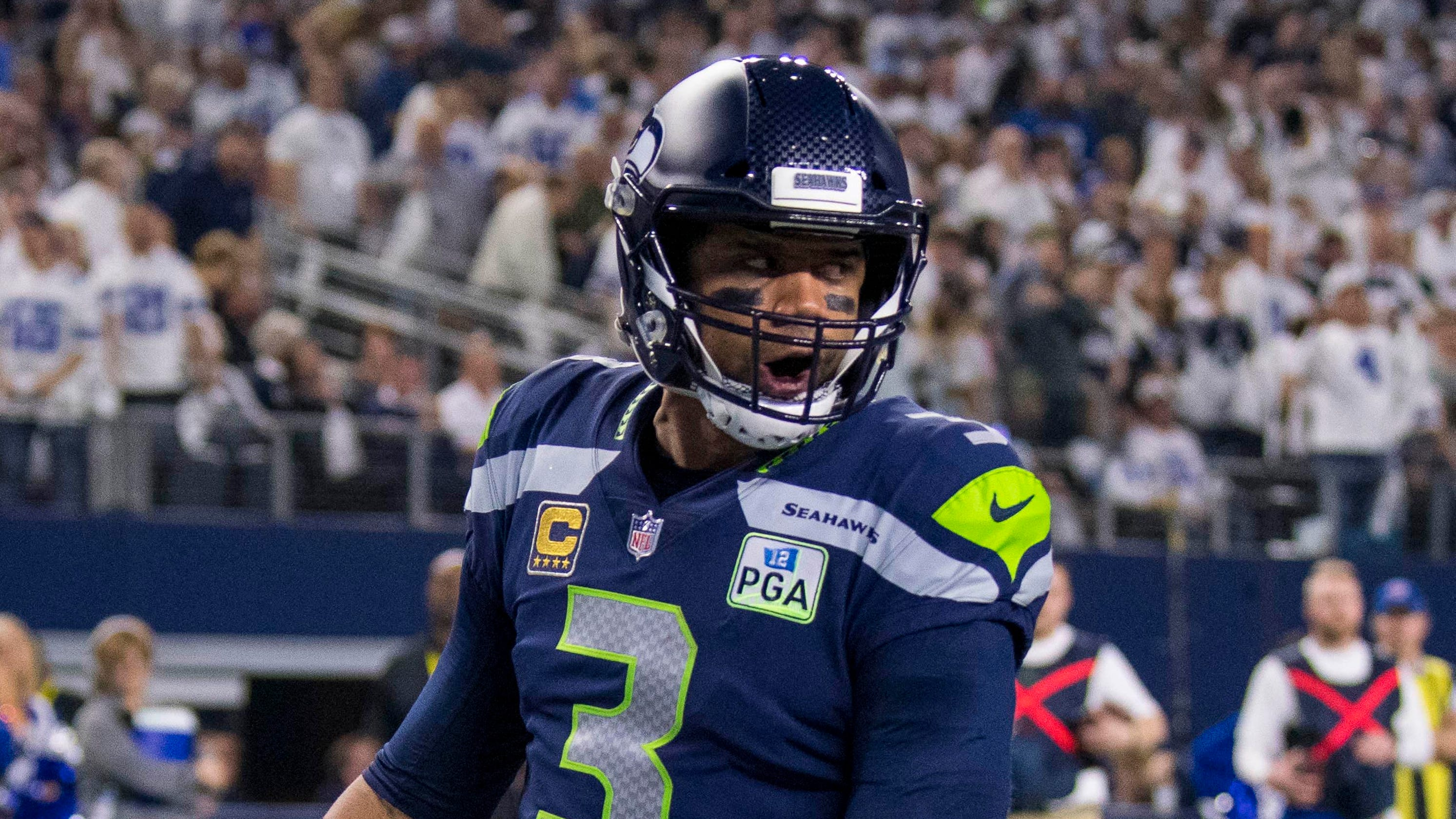 competitive price 2edf1 43c44 Seahawks' Russell Wilson announces contract, to become NFL's ...