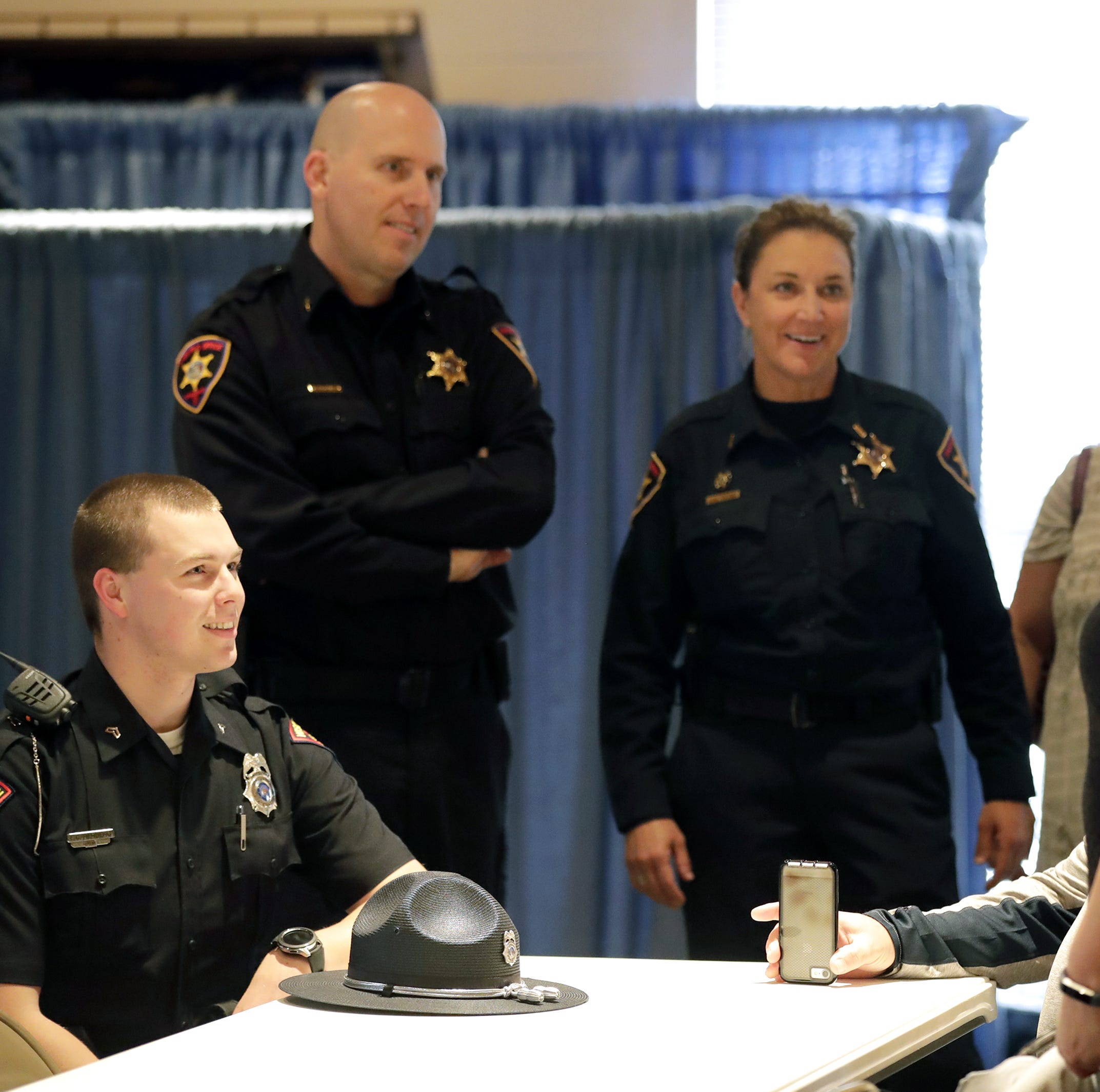 I-41 pileup: Emergency responders honored for efforts in 131-car pileup in Neenah