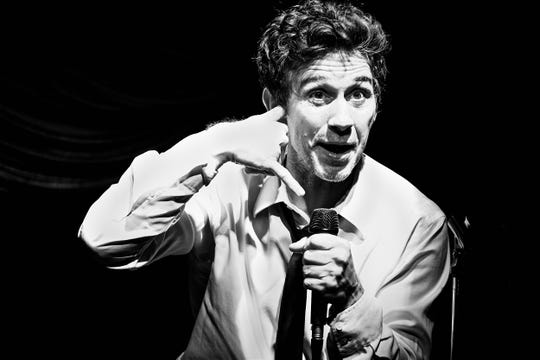 """""""I'm Not A Comedian ... I'm Lenny Bruce"""" writer and star Ronnie Marmo"""