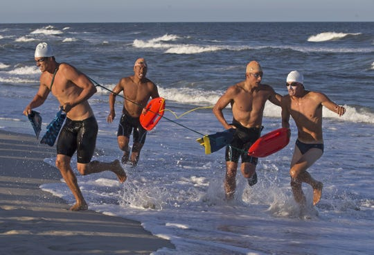 The Long Beach Island Lifeguard Tournament in Ship Bottom.