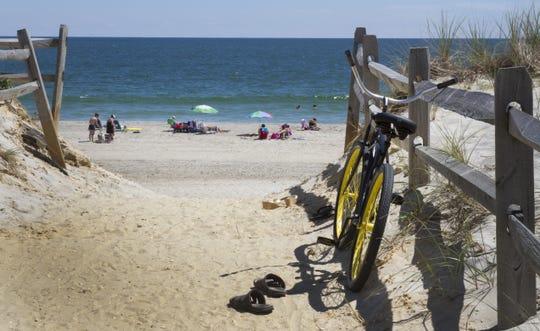 The beach at Surf City.