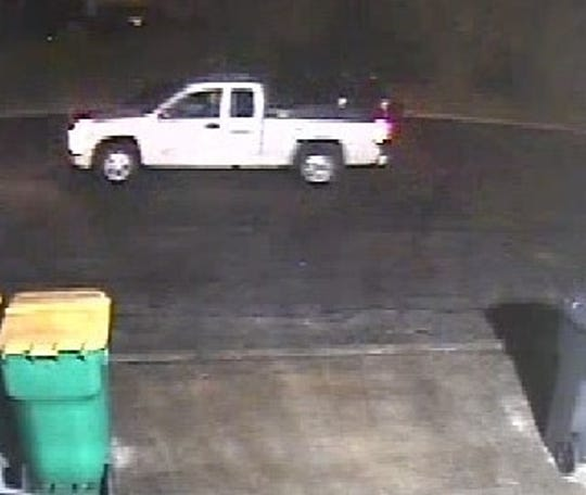 Police are searching for the occupant of this vehicle, suspected of burglarizing a laundromat in Toms River April 13.